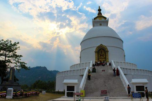 world peace pagoda nepal