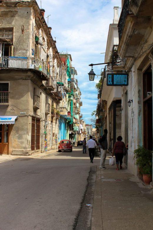 streets of Havana Cuba