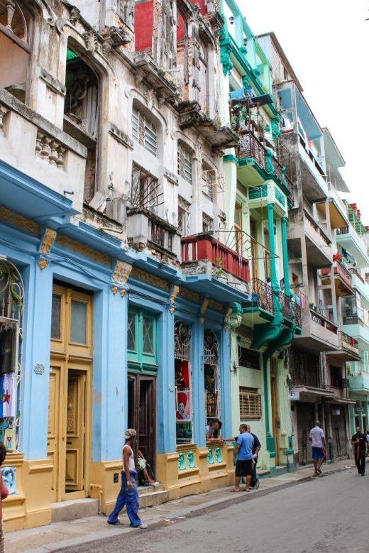 Colourful streets of Havana Cuba