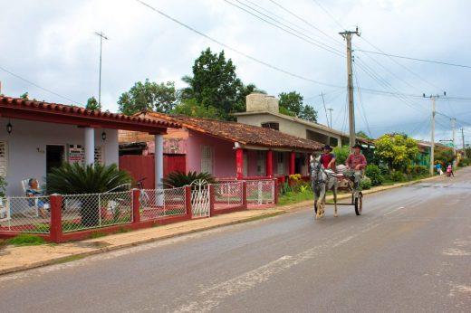 Cuba, Viñales streets