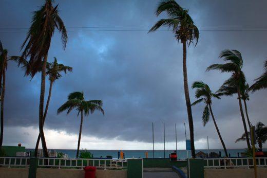 storms in Varadero Cuba