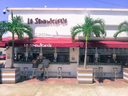 south beach Miami lunch