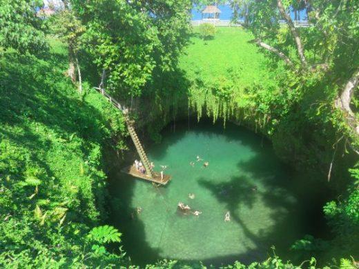 Ta Sua Trench Samoa