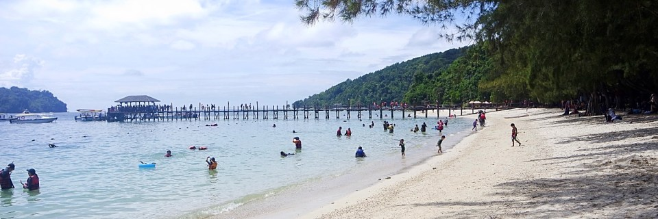 Mamutik and Manukan Islands, Borneo