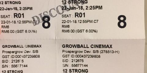 Cinema in Kota Kinabalu, Malaysia