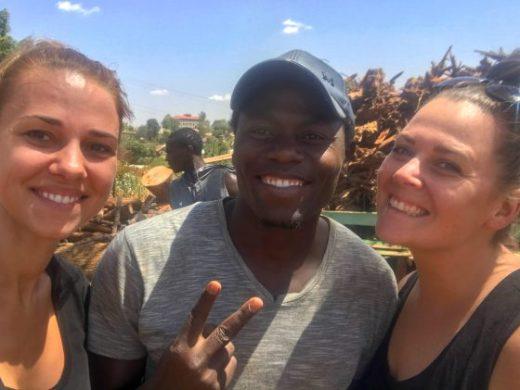 With Kennedy at Gathiga Children's Hope Home, Nairobi Kenya