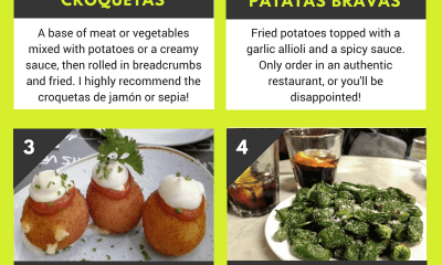 6 Amazing Tapas to Try in Barcelona – Infographic