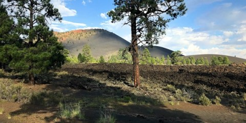 Camping in Sunset Crater Volcano National Monument