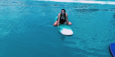 Surfing in the Middle of Texas