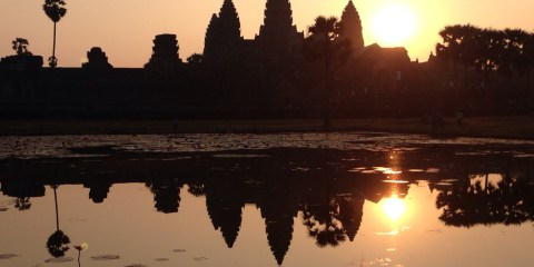 #TBT: Travel Flashback Part 5: The Sun Rises Slowly Over Angkor Wat