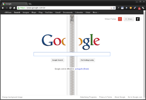 Homenagem do Google ao inventor do Zipper