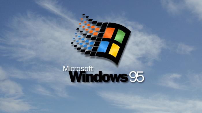 Windows 95 Papel de Parede/Wallpaper retrô