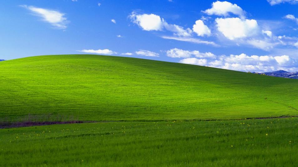 Windows XP Papel de Parede/Wallpaper retrô