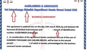 Business Perjanjian