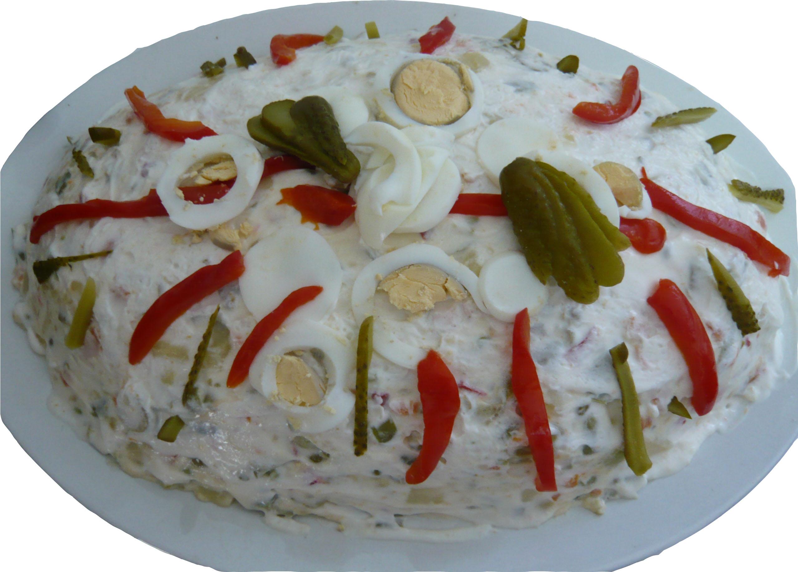 Ensaladilla Rusa  Recetas de Cocina Casera Ligera
