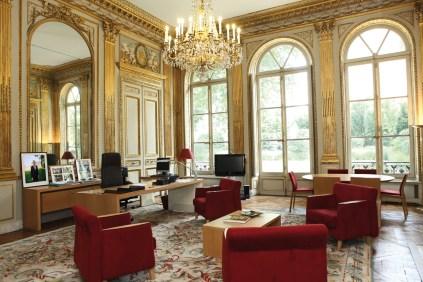 Hôtel de Rochechouart pour la plaquette d'information publiée à l'occasion des journées du patrimoine, au ministère, le vendredi 31 juillet 2009 - ©Philippe Devernay