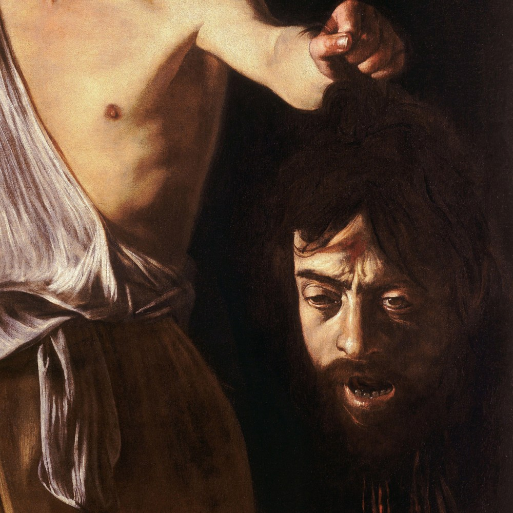 20- Il volto di Golia-Caravaggio