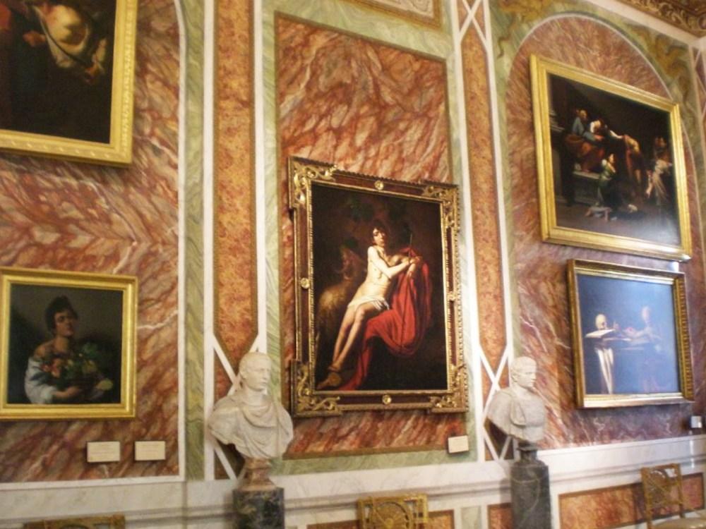 3-I sei dipinti del Caravaggio