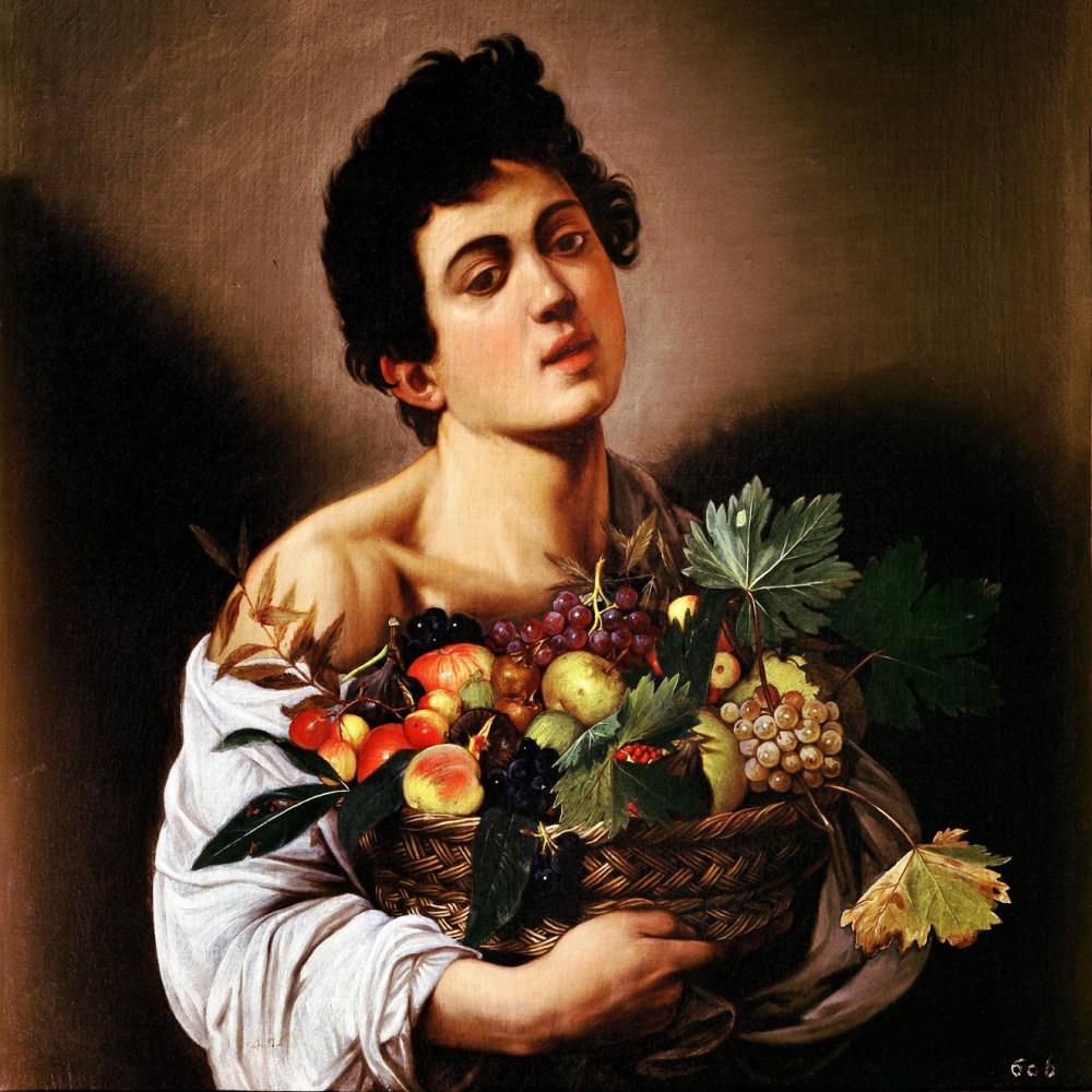 4-Fanciullo con canestra di frutta