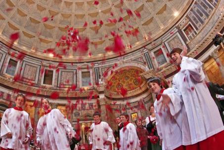 Pentecoste al Panthon - fotografo: benvegnù - guaitoli