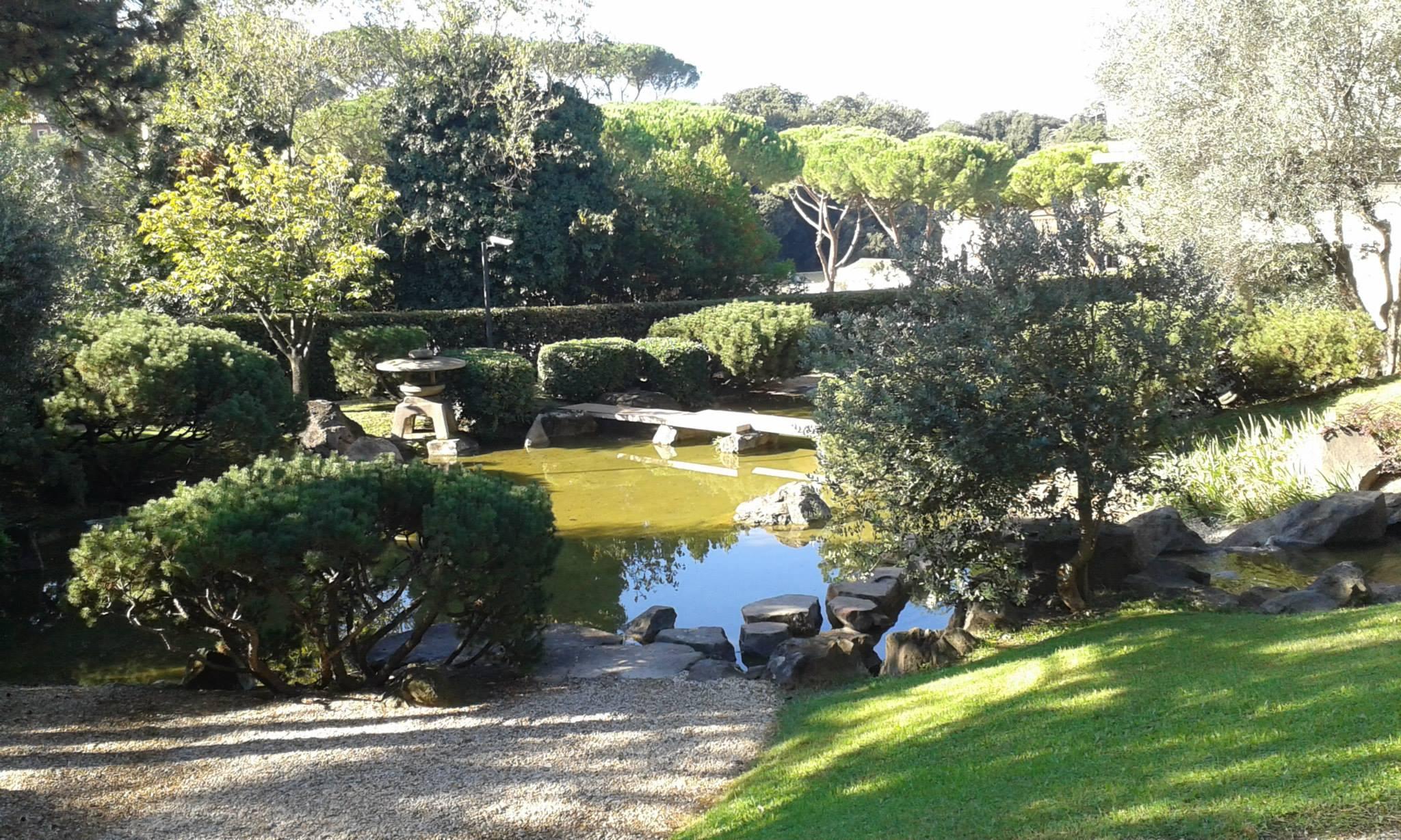 Apertura giardino dell istituto giapponese di roma dal
