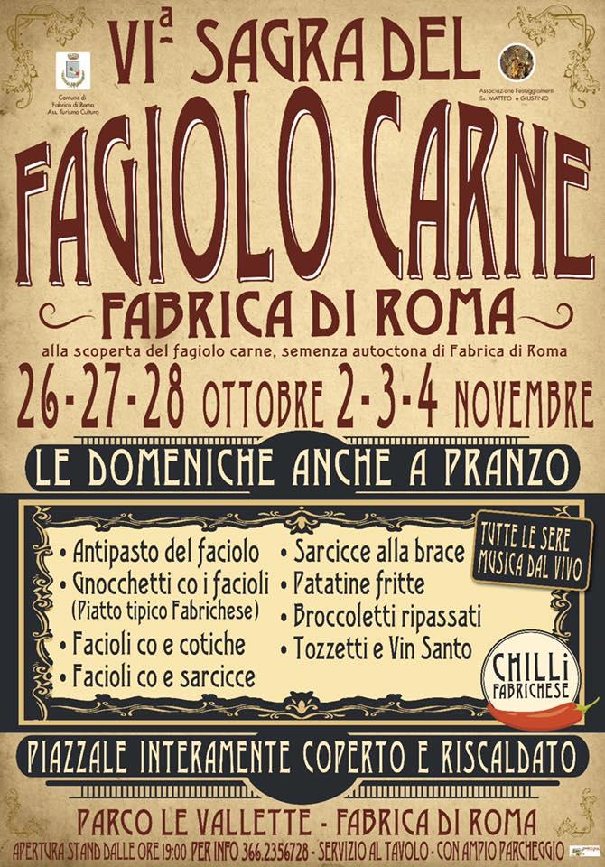 locandina Fagiolo Carne 2018