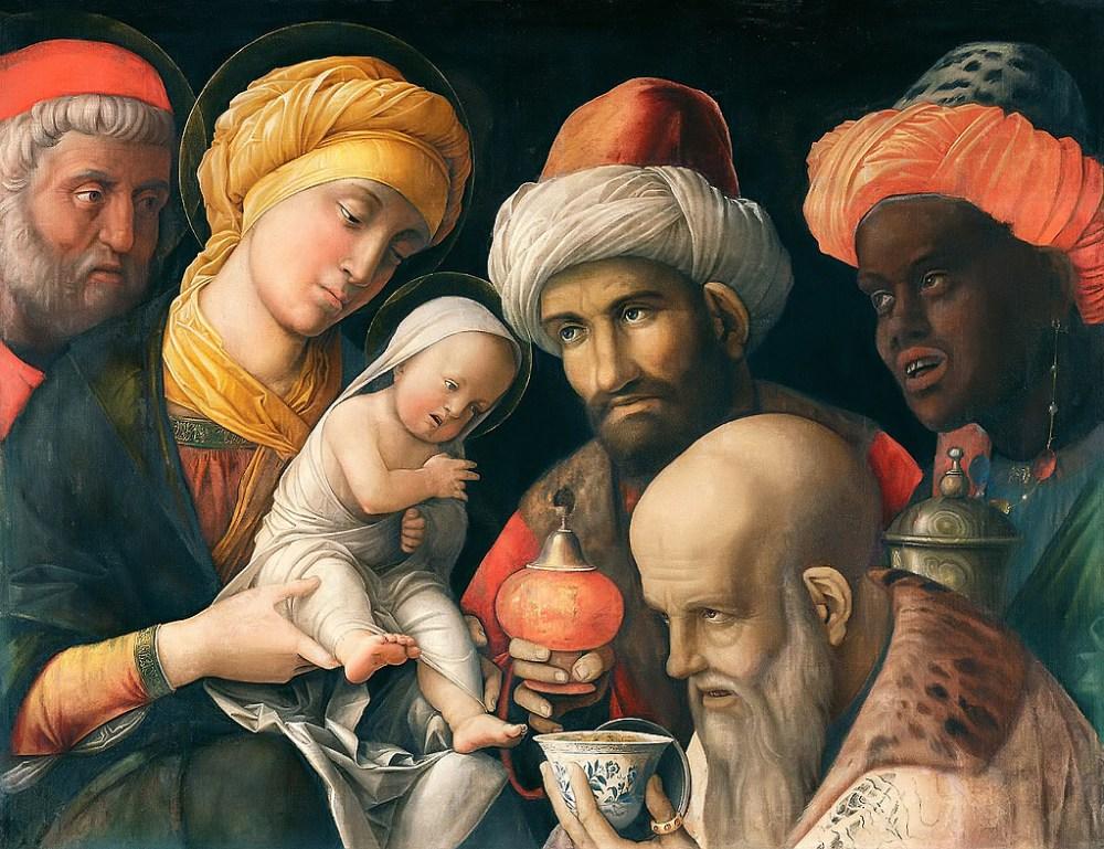 Adoration of the Magi, Andrea Mantegna c. 1500