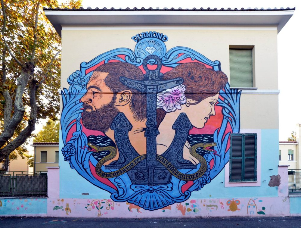 Street art al Trullo
