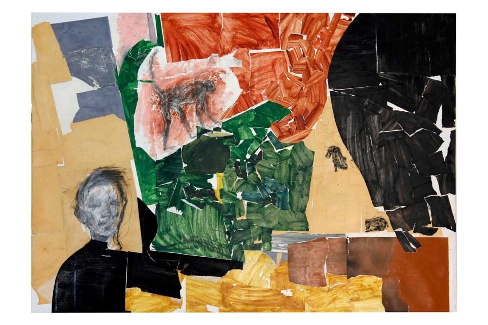 RvB-Arts_Luca-Zarattini_Untitled_tecnica-mista-su-tela_100x140-cm_2018_light