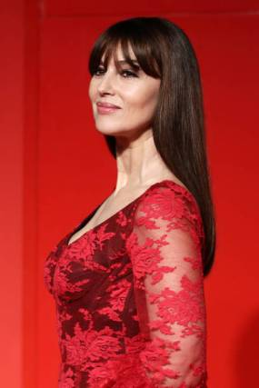 """VENICE, ITALY - AUGUST 31: Monica Bellucci attends the """"Irreversible"""" Red Carpet during the 76th Venice Film Festival at Sala Grande on August 31, 2019 in Venice, Italy. (Photo by Vittorio Zunino Celotto/Getty Images)"""
