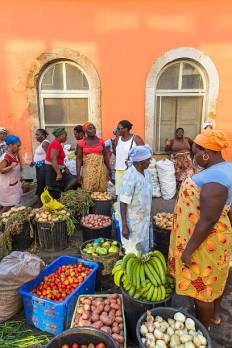 Vegetable Market, Praia, Santiago Island, Cape Verde