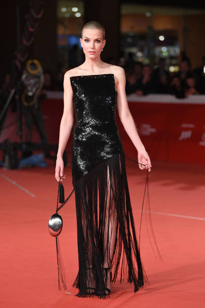 """ROME, ITALY - OCTOBER 24: Sylvia Hoeks walks the red carpet ahead of the """"The Girl In The Spider's Web"""" screening during the 13th Rome Film Fest at Auditorium Parco Della Musica on October 24, 2018 in Rome, Italy. (Photo by Daniele Venturelli/Daniele Venturelli/WireImage )"""