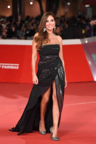 """ROME, ITALY - OCTOBER 19: Fanny Cadeo walks the red carpet ahead of the """"The House With A Clock In Its Walls"""" screening during the 13th Rome Film Fest at Auditorium Parco Della Musica on October 19, 2018 in Rome, Italy. (Photo by Daniele Venturelli/Daniele Venturelli/WireImage )"""