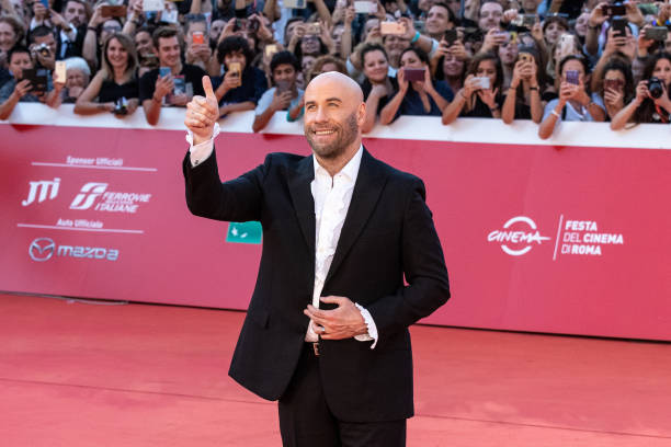 ROME, ITALY - 2019/10/22: John Travolta attends the red carpet during the 14th Rome Film Festival in Rome. (Photo by Cosimo Martemucci/SOPA Images/LightRocket via Getty Images)