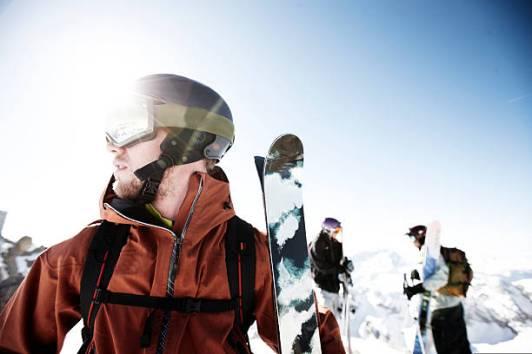 Free skiing Dolomites