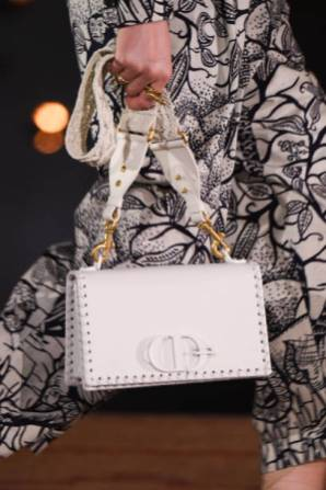 MARRAKECH, MOROCCO - APRIL 29: A model (Bag detail) walks the runway during the Christian Dior Couture S/S20 Cruise Collection on April 29, 2019 in Marrakech, Morocco. (Photo by Stephane Cardinale - Corbis/Corbis via Getty Images)