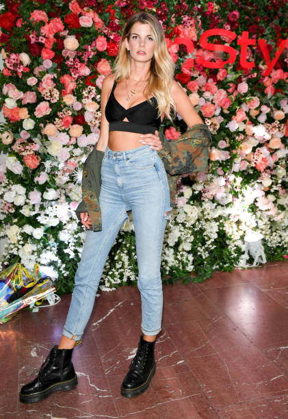 05 July 2019, Berlin: The model Simone Sevignani comes to the event Be InStyle in the Cafe Moscow. The collections for Spring/Summer 2020 will be presented at Berlin Fashion Week. Photo: Jens Kalaene/dpa-Zentralbild/dpa (Photo by Jens Kalaene/picture alliance via Getty Images)