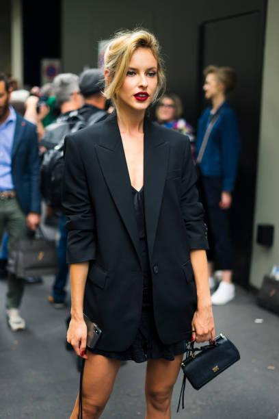 Street Style At Dolce & Gabbana Fashion Show: September 22 - Milan Fashion Week Spring/Summer 2020, on September 22, 2019, Milan, Italy (Photo by Nataliya Petrova/NurPhoto via Getty Images)