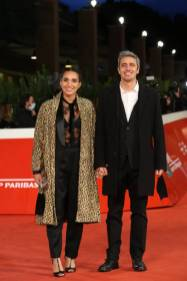 "ROME, ITALY - OCTOBER 15: Pif (Pierfrancesco Diliberto) and girlfriend attend the red carpet of the movie ""Soul"" during the 15th Rome Film Festival on October 15, 2020 in Rome, Italy. (Photo by Elisabetta Villa/Getty Images for RFF)"