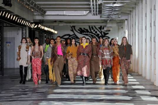MILAN, ITALY - FEBRUARY 24: In this image released on February the 26th, models walk the runway at the Etro Fashion Show during the Milan Fashion Week Fall/Winter 2021/2022 on February 24, 2021 in Milan, Italy. (Photo by Vittorio Zunino Celotto/Getty Images)