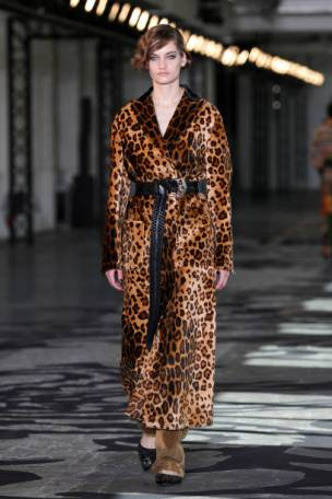 MILAN, ITALY - FEBRUARY 24: In this image released on February the 26th, a model walks the runway at the Etro Fashion Show during the Milan Fashion Week Fall/Winter 2021/2022 on February 24, 2021 in Milan, Italy. (Photo by Vittorio Zunino Celotto/Getty Images)