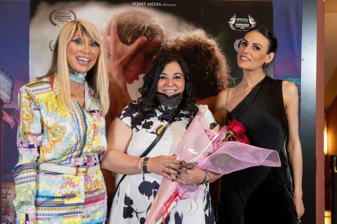 Sabina Negri Calderoli, Marilù S. Manzini e Martina Palmitesta