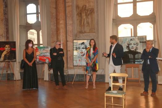 Elisabetta La Rosa, Giuliano Grittini, Elena Parmegiani, Michele Crocitto, Rosario Sprovieri, ok