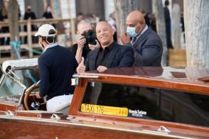 VENICE, ITALY - AUGUST 29: Vin Diesel is seen during the Dolce&Gabbana Alta Moda show on August 29, 2021 in Venice, Italy. (Photo by Jacopo Raule/Getty Images)