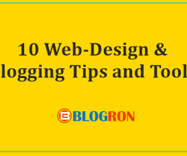 10 Web-Design & Blogging Tips and Tools 3