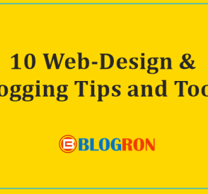 10 Web-Design & Blogging Tips and Tools 5