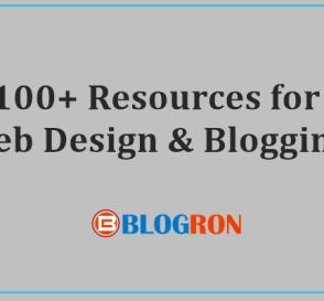 100+ Resources for Web Design & Blogging 5