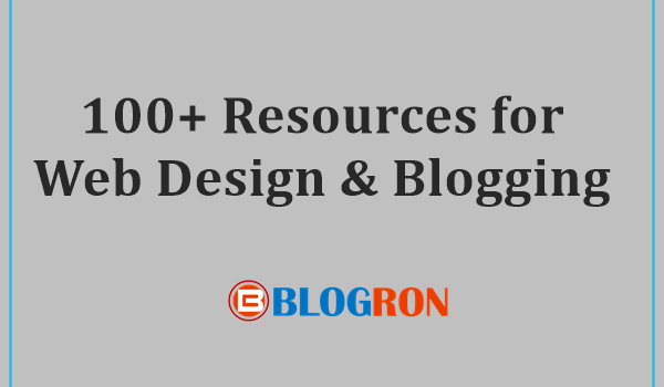 100+ Resources for Web Design & Blogging 4