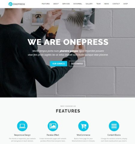 Top 10 Free Responsive Business WordPress Themes 8