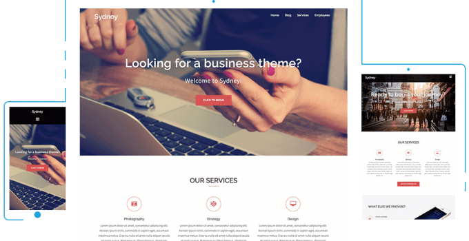 Top 10 Free Responsive Business WordPress Themes 11